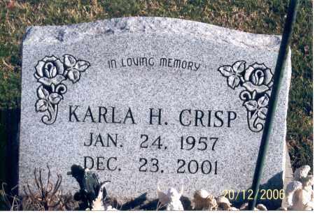 CRISP, KARLA HOPE - Ross County, Ohio | KARLA HOPE CRISP - Ohio Gravestone Photos
