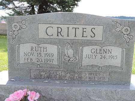CRITES, GLENN - Ross County, Ohio | GLENN CRITES - Ohio Gravestone Photos