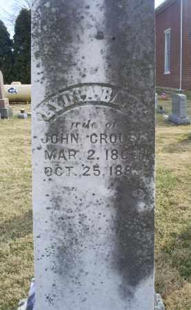 CROUSE, LYDIA - Ross County, Ohio | LYDIA CROUSE - Ohio Gravestone Photos
