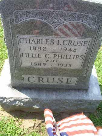 CRUSE, CHARLES I. - Ross County, Ohio | CHARLES I. CRUSE - Ohio Gravestone Photos