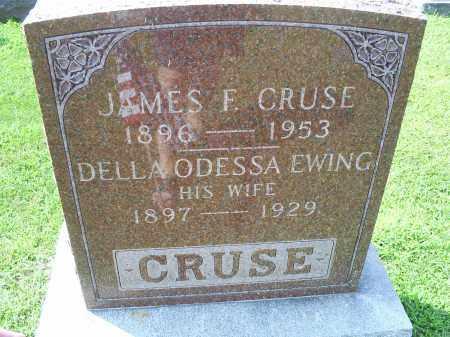 CRUSE, DELLA ODESSA - Ross County, Ohio | DELLA ODESSA CRUSE - Ohio Gravestone Photos