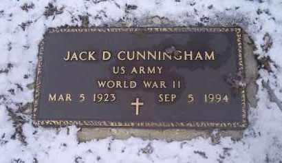 CUNNINGHAM, JACK D. - Ross County, Ohio   JACK D. CUNNINGHAM - Ohio Gravestone Photos