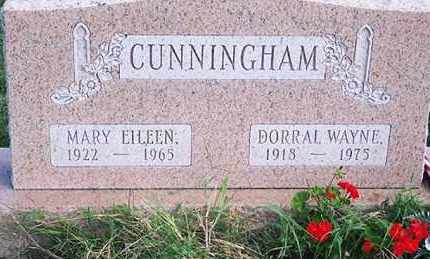 CUNNINGHAM, MARY EILEEN - Ross County, Ohio | MARY EILEEN CUNNINGHAM - Ohio Gravestone Photos