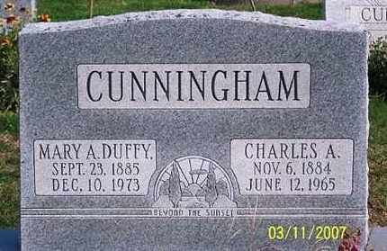 DUFFY CUNNINGHAM, MARY A. - Ross County, Ohio | MARY A. DUFFY CUNNINGHAM - Ohio Gravestone Photos
