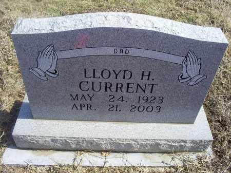CURRENT, LLOYD H. - Ross County, Ohio | LLOYD H. CURRENT - Ohio Gravestone Photos