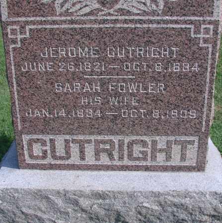 CUTRIGHT, JEROME - Ross County, Ohio   JEROME CUTRIGHT - Ohio Gravestone Photos