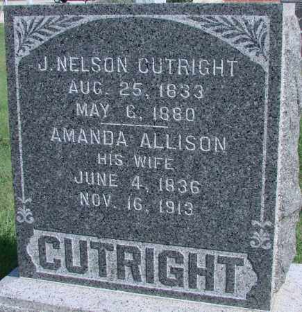 CUTRIGHT, J. NELSON - Ross County, Ohio | J. NELSON CUTRIGHT - Ohio Gravestone Photos