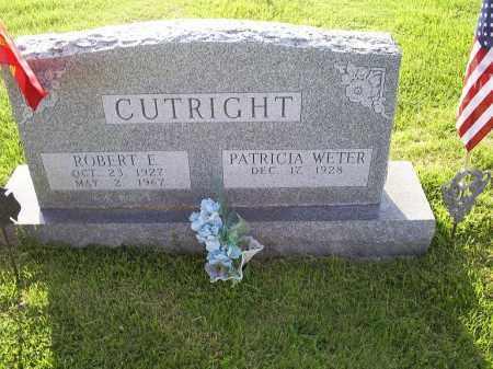 CUTRIGHT, PAUL E. - Ross County, Ohio | PAUL E. CUTRIGHT - Ohio Gravestone Photos