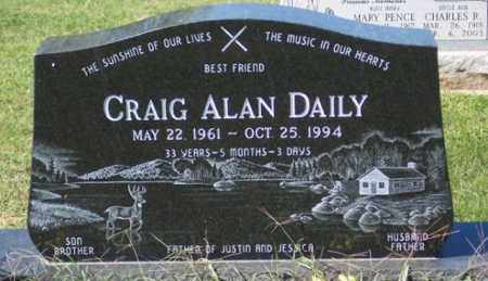 DAILY, CRAIG ALAN - Ross County, Ohio   CRAIG ALAN DAILY - Ohio Gravestone Photos