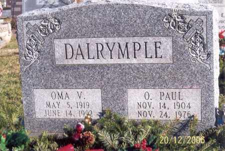 DALRYMPLE, OSCAR PAUL - Ross County, Ohio | OSCAR PAUL DALRYMPLE - Ohio Gravestone Photos