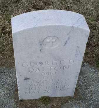 DALTON, GEORGE D. - Ross County, Ohio | GEORGE D. DALTON - Ohio Gravestone Photos