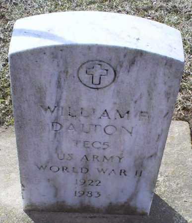 DALTON, WILLIAM F. - Ross County, Ohio | WILLIAM F. DALTON - Ohio Gravestone Photos