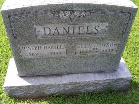 DANIELS, ELLA - Ross County, Ohio   ELLA DANIELS - Ohio Gravestone Photos