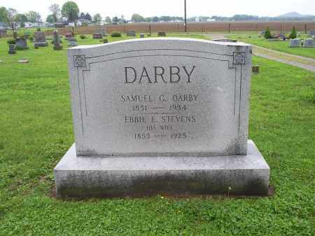 DARBY, SAMUEL G. - Ross County, Ohio | SAMUEL G. DARBY - Ohio Gravestone Photos