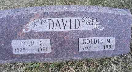 DAVID, CLEM C. - Ross County, Ohio | CLEM C. DAVID - Ohio Gravestone Photos
