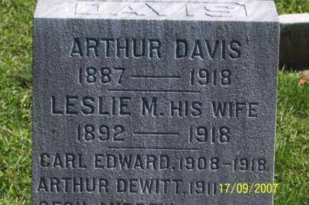 DAVIS, ARTHUR - Ross County, Ohio | ARTHUR DAVIS - Ohio Gravestone Photos