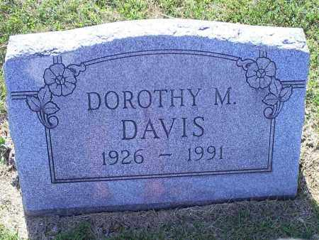 DAVIS, DOROTHY M. - Ross County, Ohio | DOROTHY M. DAVIS - Ohio Gravestone Photos