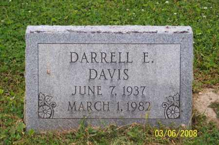 DAVIS, DARRELL E. - Ross County, Ohio | DARRELL E. DAVIS - Ohio Gravestone Photos