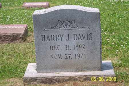 DAVIS, HARRY J. - Ross County, Ohio | HARRY J. DAVIS - Ohio Gravestone Photos