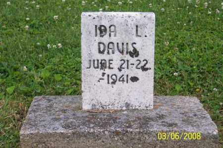 DAVIS, IDA L. - Ross County, Ohio   IDA L. DAVIS - Ohio Gravestone Photos