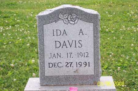 DAVIS, IDA A. - Ross County, Ohio | IDA A. DAVIS - Ohio Gravestone Photos
