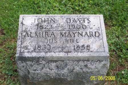 DAVIS, JOHN - Ross County, Ohio | JOHN DAVIS - Ohio Gravestone Photos