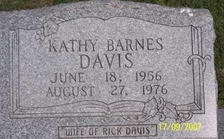 BARNES DAVIS, KATHY - Ross County, Ohio | KATHY BARNES DAVIS - Ohio Gravestone Photos