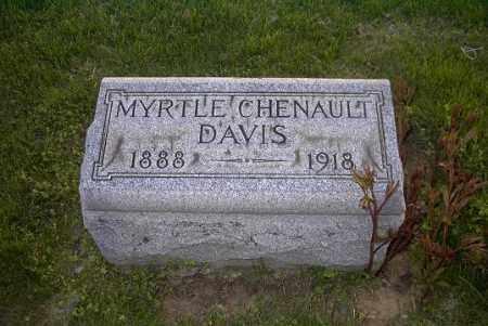 CHENAULT DAVIS, MYRTLE - Ross County, Ohio | MYRTLE CHENAULT DAVIS - Ohio Gravestone Photos