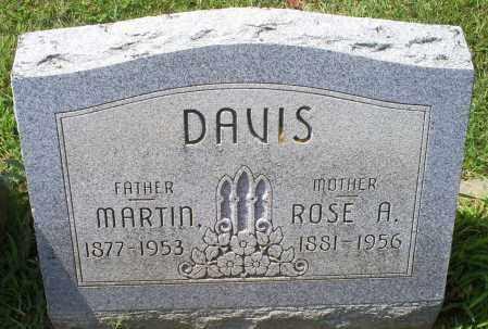 DAVIS, ROSE A. - Ross County, Ohio | ROSE A. DAVIS - Ohio Gravestone Photos