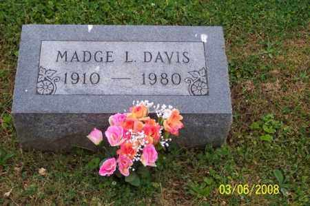 DAVIS, MADGE L. - Ross County, Ohio | MADGE L. DAVIS - Ohio Gravestone Photos