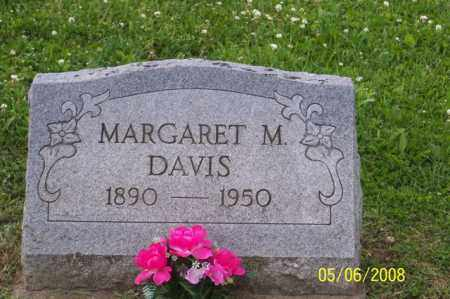 DAVIS, MARGARET M. - Ross County, Ohio | MARGARET M. DAVIS - Ohio Gravestone Photos