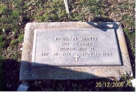 DAVIS, PAUL N. - Ross County, Ohio   PAUL N. DAVIS - Ohio Gravestone Photos