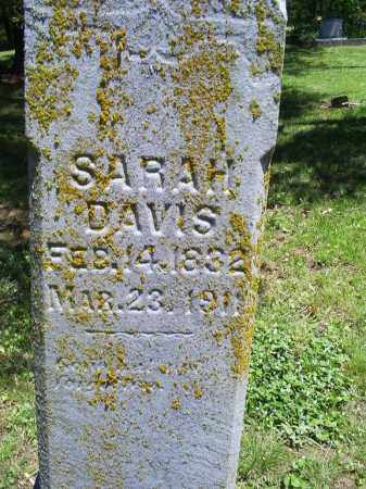 DAVIS, SARAH - Ross County, Ohio   SARAH DAVIS - Ohio Gravestone Photos