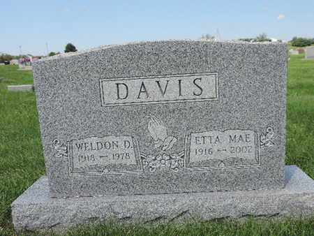 DAVIS, WELDON D. - Ross County, Ohio | WELDON D. DAVIS - Ohio Gravestone Photos