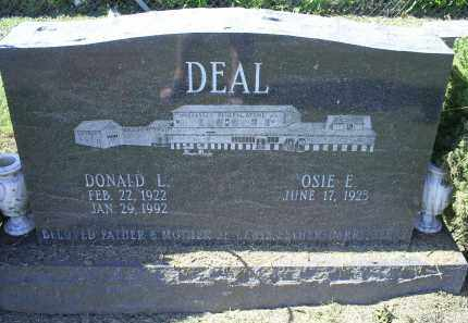 DEAL, DONALD L. - Ross County, Ohio | DONALD L. DEAL - Ohio Gravestone Photos