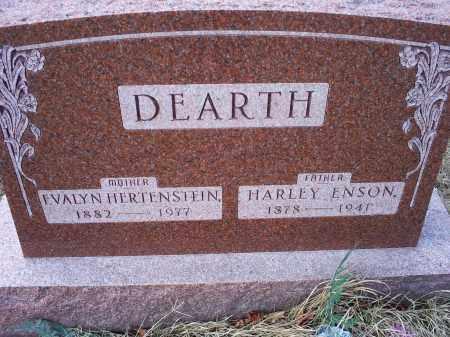 DEARTH, EVALYN - Ross County, Ohio | EVALYN DEARTH - Ohio Gravestone Photos