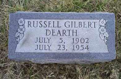 DEARTH, RUSSELL GILBERT - Ross County, Ohio   RUSSELL GILBERT DEARTH - Ohio Gravestone Photos