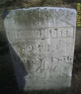 DEEN, DICKSON - Ross County, Ohio | DICKSON DEEN - Ohio Gravestone Photos