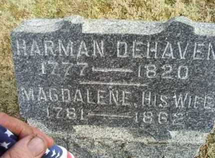 DEHAVEN, HARMAN - Ross County, Ohio | HARMAN DEHAVEN - Ohio Gravestone Photos