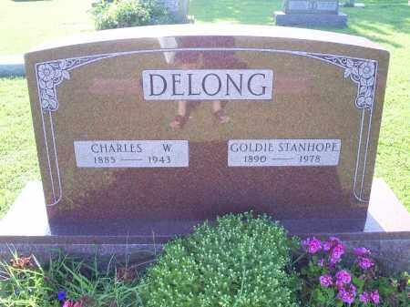 DELONG, CHARLES W. - Ross County, Ohio   CHARLES W. DELONG - Ohio Gravestone Photos