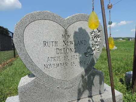 NEWLAND DELONG, RUTH - Ross County, Ohio | RUTH NEWLAND DELONG - Ohio Gravestone Photos
