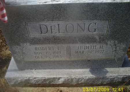 DELONG, ROBERT I. - Ross County, Ohio | ROBERT I. DELONG - Ohio Gravestone Photos