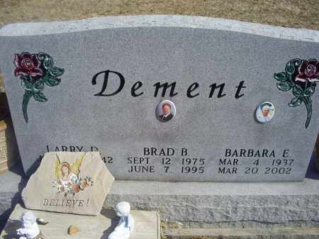 DEMENT, BARBARA E. - Ross County, Ohio   BARBARA E. DEMENT - Ohio Gravestone Photos