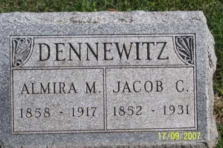 DENNEWITZ, ALMIRA M. - Ross County, Ohio   ALMIRA M. DENNEWITZ - Ohio Gravestone Photos