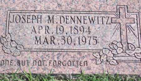 DENNEWITZ, JOSEPH M. - Ross County, Ohio | JOSEPH M. DENNEWITZ - Ohio Gravestone Photos