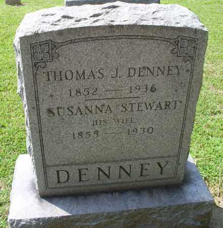 STEWART DENNEY, SUSANNA - Ross County, Ohio | SUSANNA STEWART DENNEY - Ohio Gravestone Photos