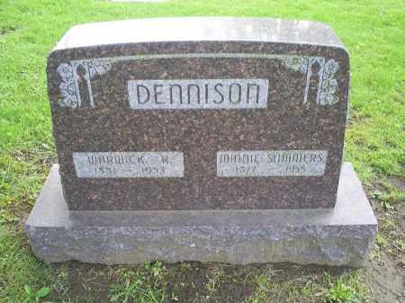 DENNISON, MINNIE - Ross County, Ohio | MINNIE DENNISON - Ohio Gravestone Photos