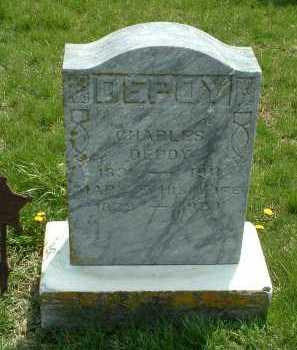DEPOY, CHARLES - Ross County, Ohio   CHARLES DEPOY - Ohio Gravestone Photos