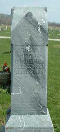 DEPOY, SUSAN - Ross County, Ohio | SUSAN DEPOY - Ohio Gravestone Photos