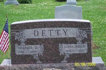 DETTY, LYDIA BELLE - Ross County, Ohio | LYDIA BELLE DETTY - Ohio Gravestone Photos